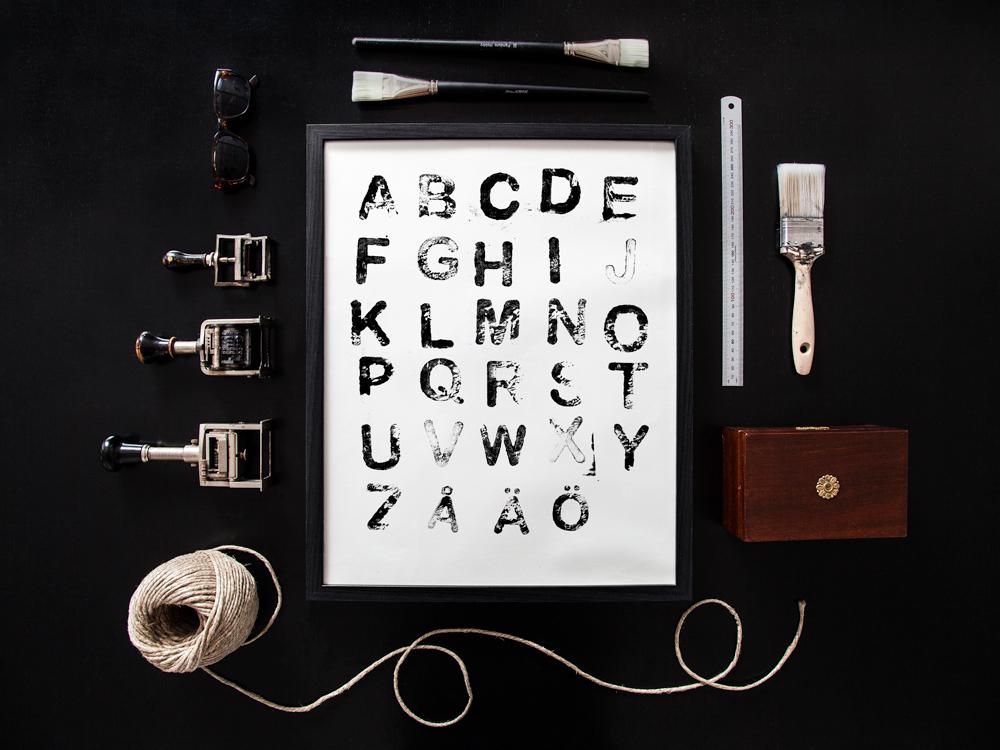 Design av Texttavlor